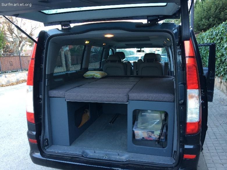 Vendo furgoneta mercedes viano extralarga segunda mano for Vendo furgoneta camper