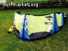 Vendo Slingshot Kite 14 metros Rally
