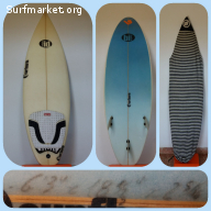 Vendo tabla de surf 6'3''