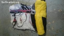 Voile Ozone Access 8m2 2013 avec barre, harnais, sac