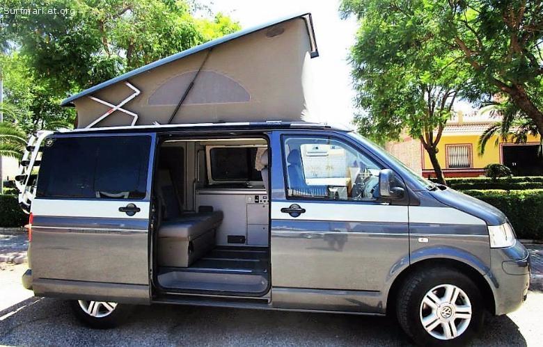 furgoneta volkswagen california beach t5 camper. Black Bedroom Furniture Sets. Home Design Ideas