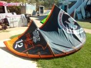 Waiman kites >> 12m / 10,5m / 9m / 7,5m / 6,25m / 5m