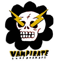 Vampirate Surfboards Ozzy Wrong