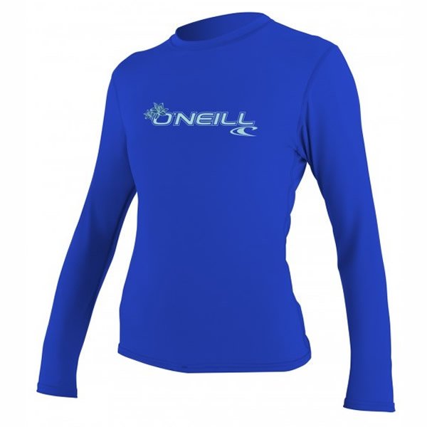O'Neill  Basic Skins   L/S Woman Blue
