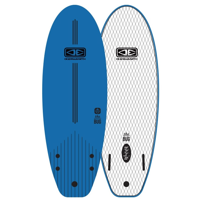 4'0'' The Bug Mini Ocean&Earth