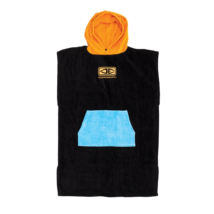 Poncho  Junior Orange Ocean&Earth