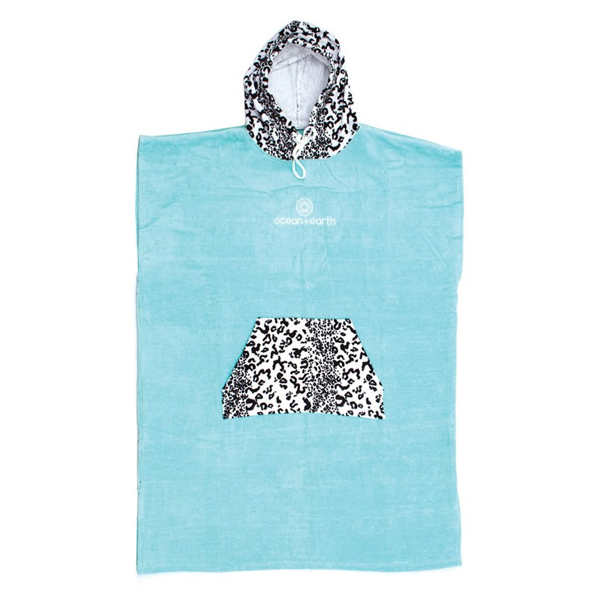 Poncho   Ladies Ocean&Earth Animal Blue