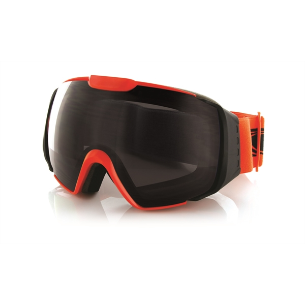 Carve snow Platinum Goggles Orange