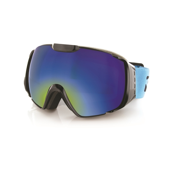 Carve snow Platinum Goggles Black Revo