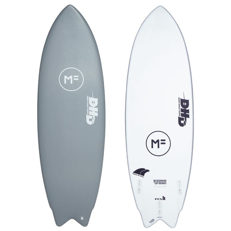5'8'' Mick Fanning DHD Twin