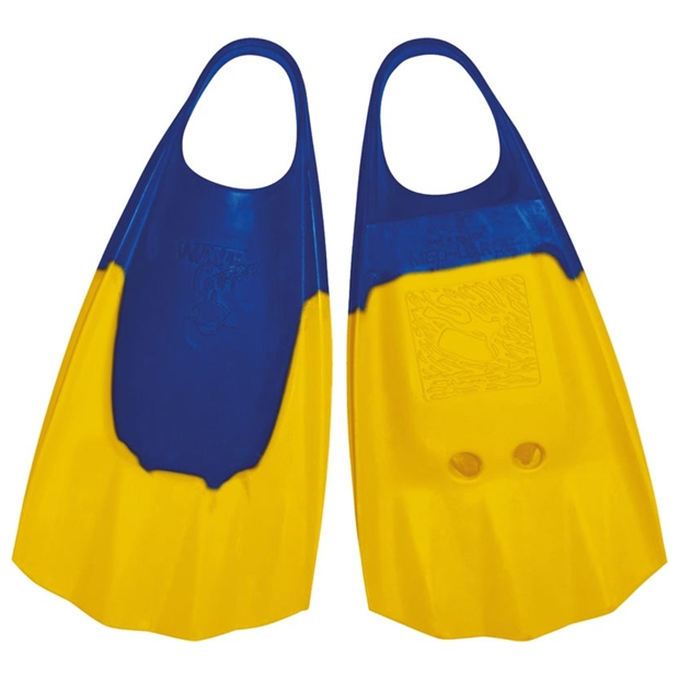 Aletas Wave Gripper Blue yellow