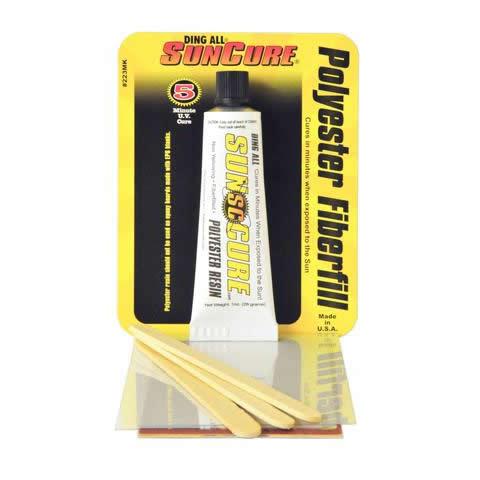 Reparador Ding All   Sun Cure Fiberfill Kit