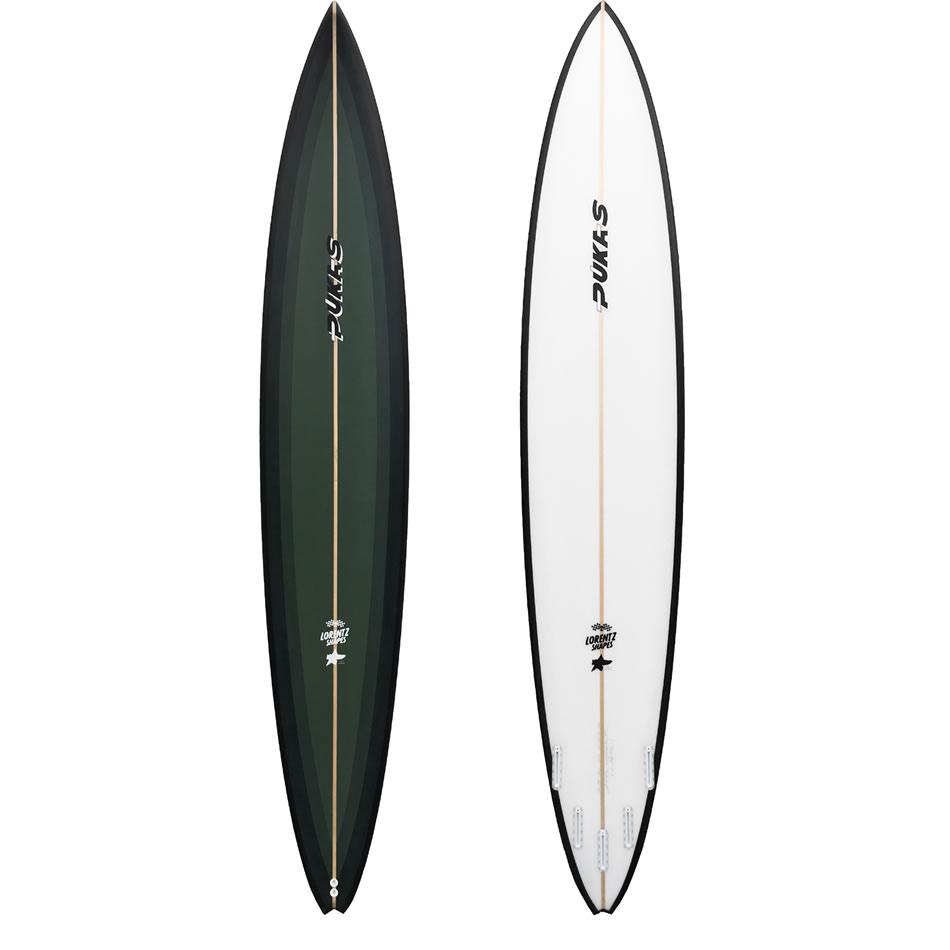 Pukas Surfboards Gun Spicy XXL Swallow
