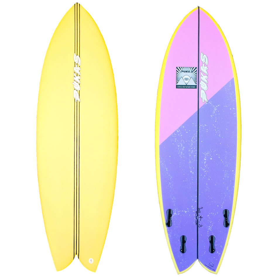 Pukas Surfboards The Wombi Fish