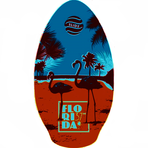 Skimboard 37''  Florida Slidz Brown