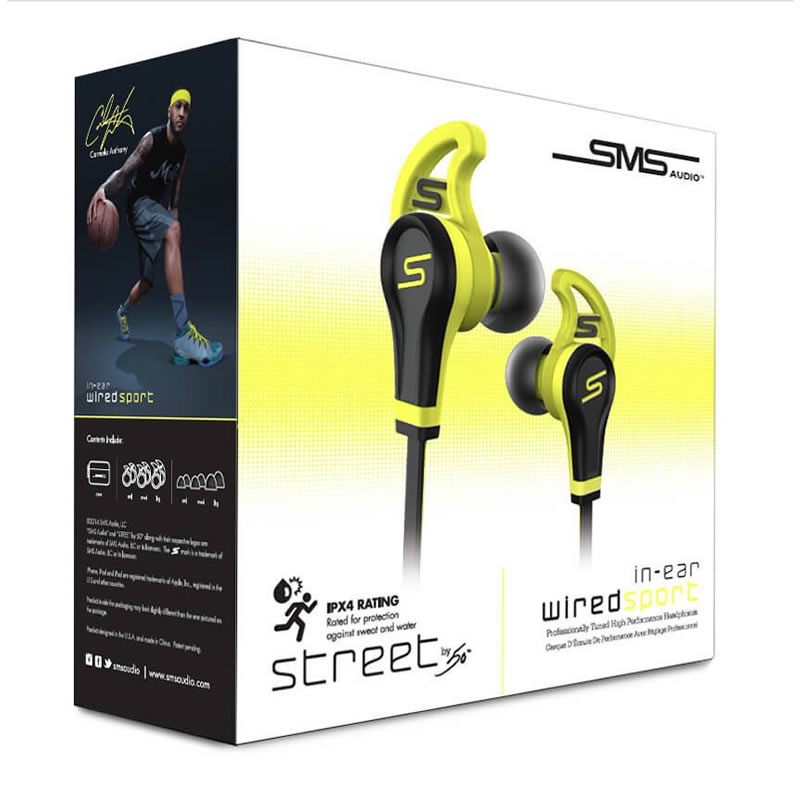 SMS Audio In-Ear Wired Sport