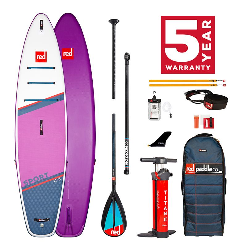 Pack Tabla SUP Hinchable Red Paddle Co. 2021 11´3´´ Sport Special Edition