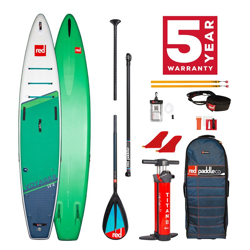 Pack tabla SUP Hinchable Red Paddle Co. 2021 13´2´´ Voyager Plus