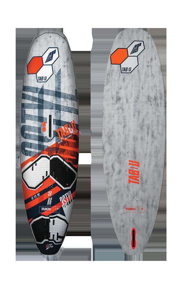 Tabla Windsurf Tabou 3s Ced 2018 106 L.