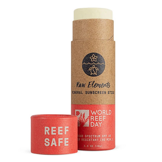 Raw Elements Reef Day Stick SPF 30