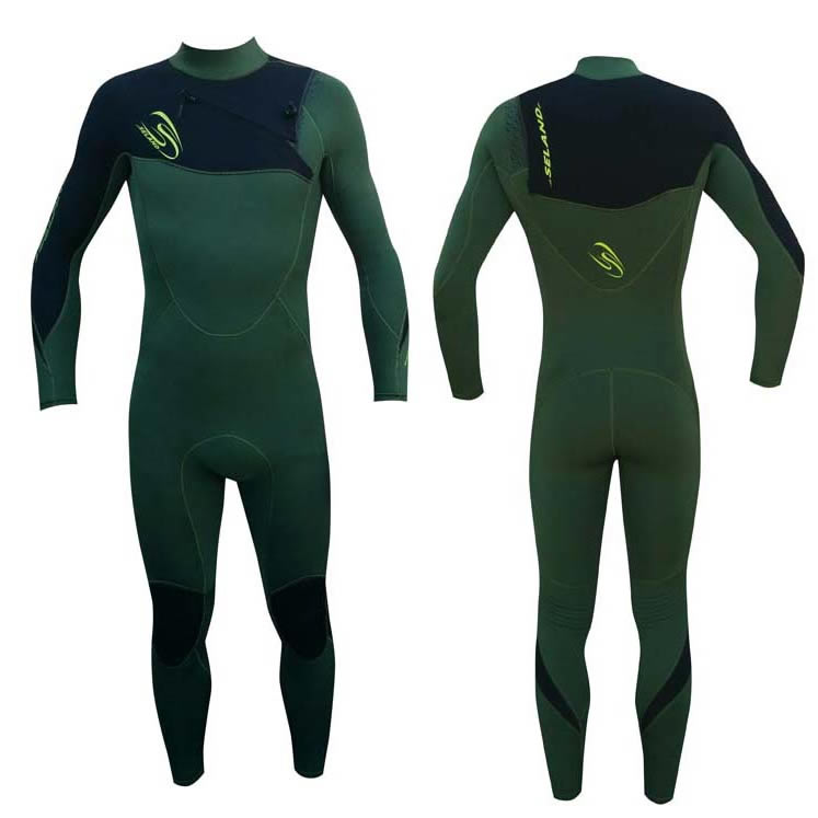 4x3   Seland Wetsuits Noja Green