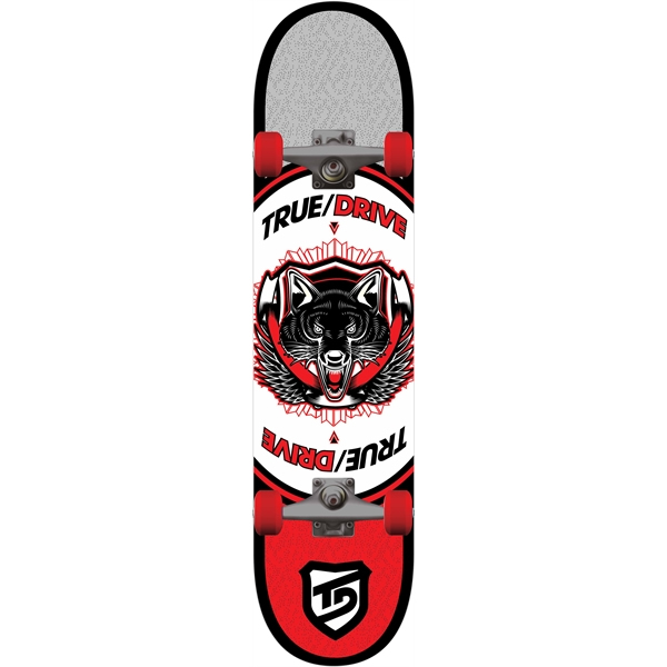 Skate True Drive Animal Red