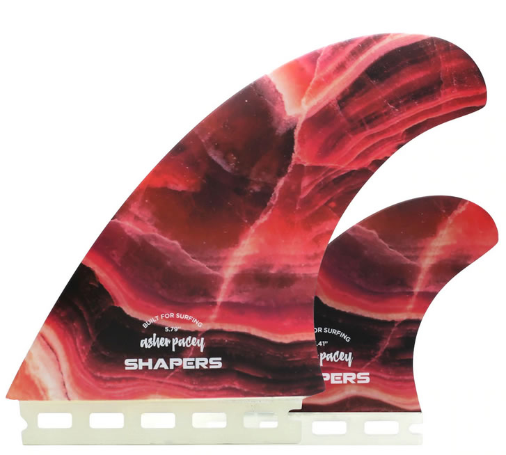 Shapers    Asher   Pacey 5.79'' Red Agate