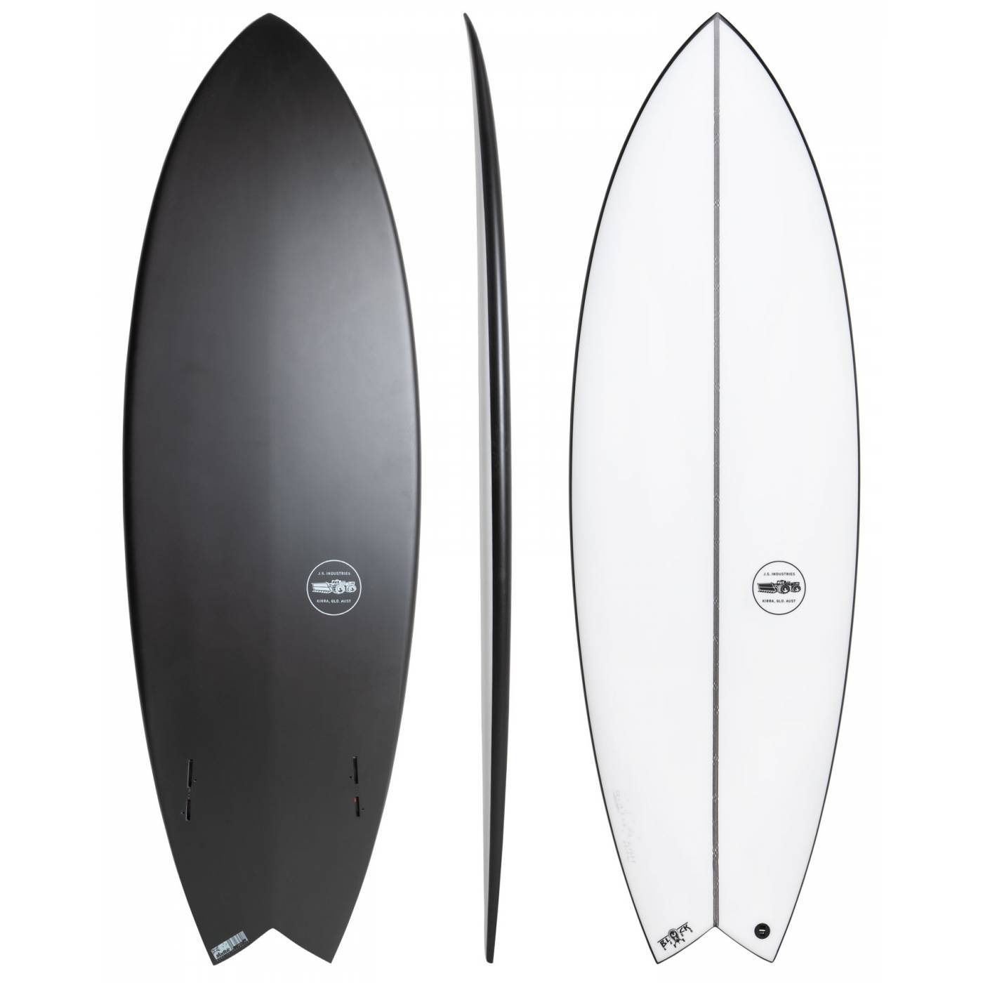 JS Surfboards Black Baron