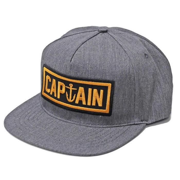 Gorra Captain     Naval Grey