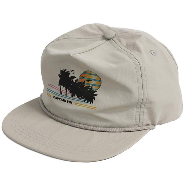 Gorra Captain Fin Seaside Grey