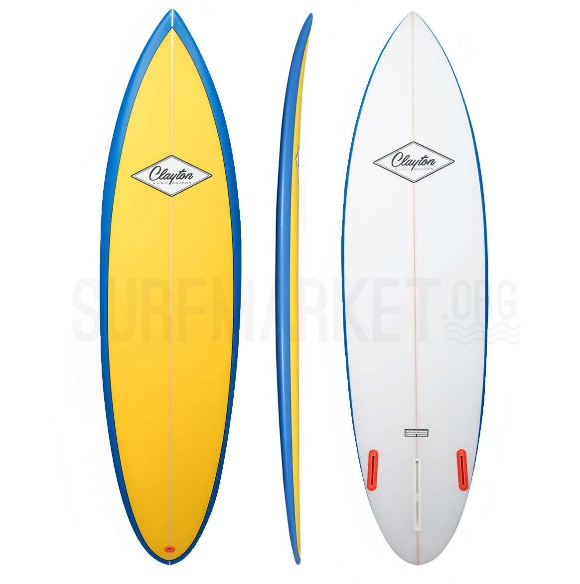 Clayton Surfboards  The Single Fin
