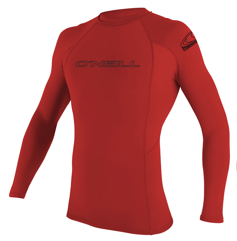 O'Neill  Basic Skins L/S Hombre Red