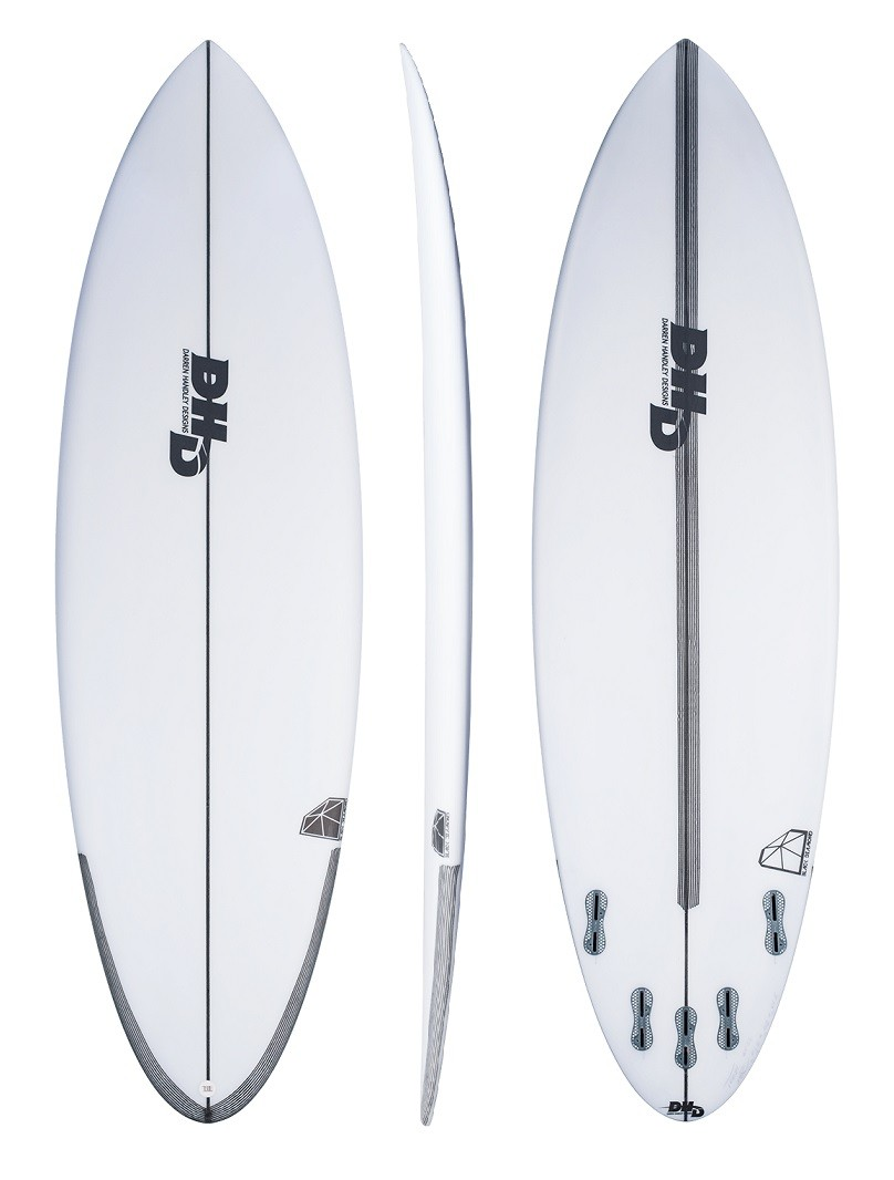 DHD Surfboards Black Diamond