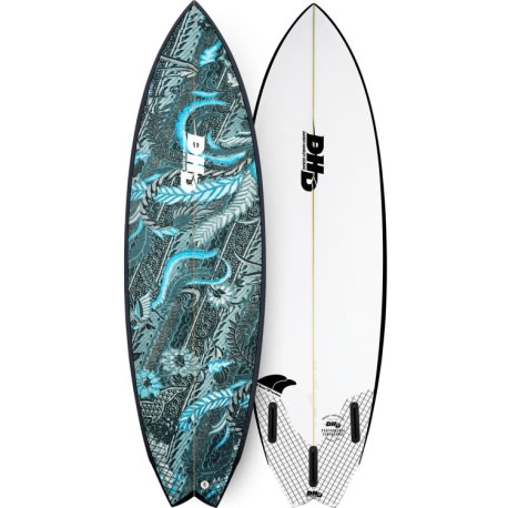 DHD Surfboards Twin Fin Scarlett