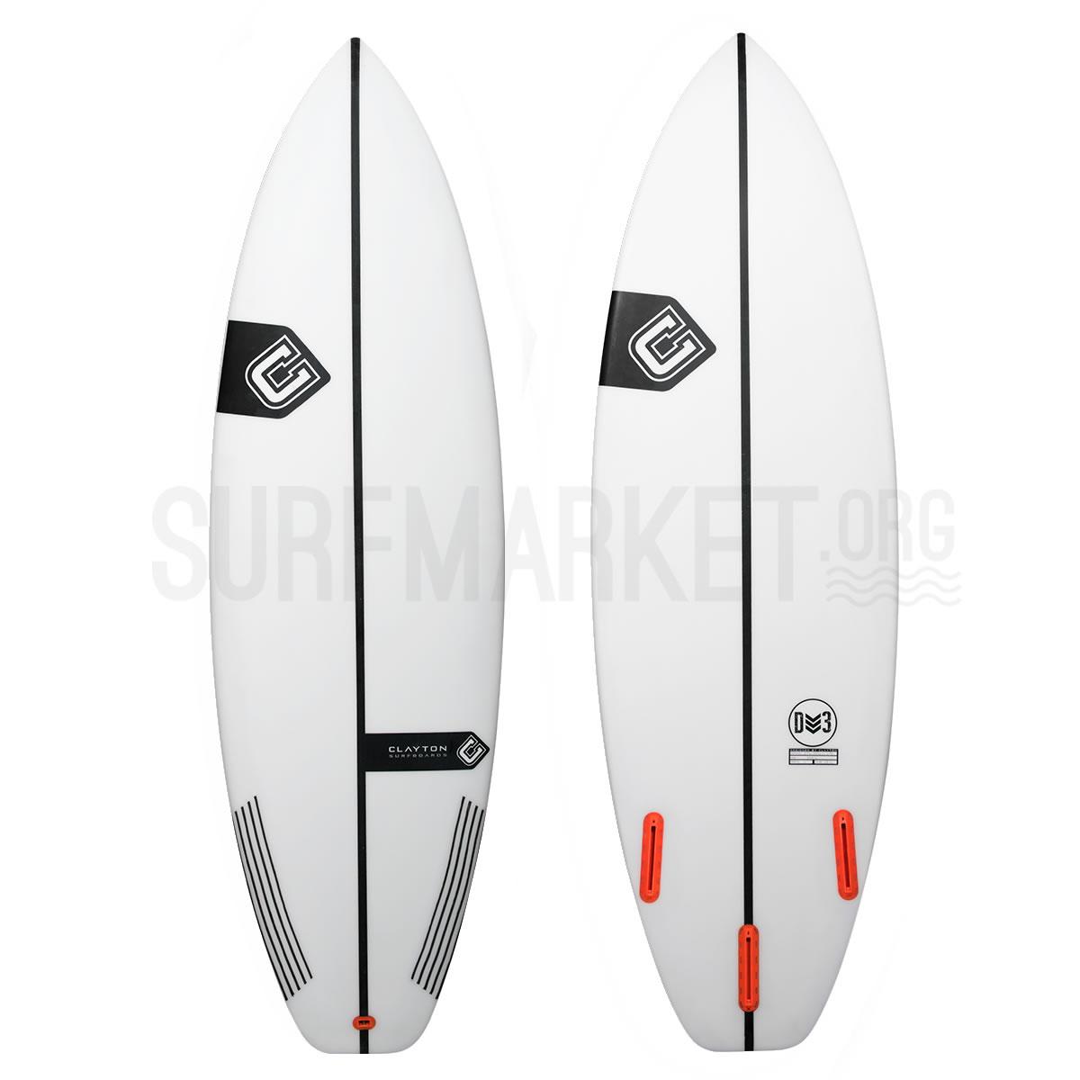 Clayton Surfboards DV3