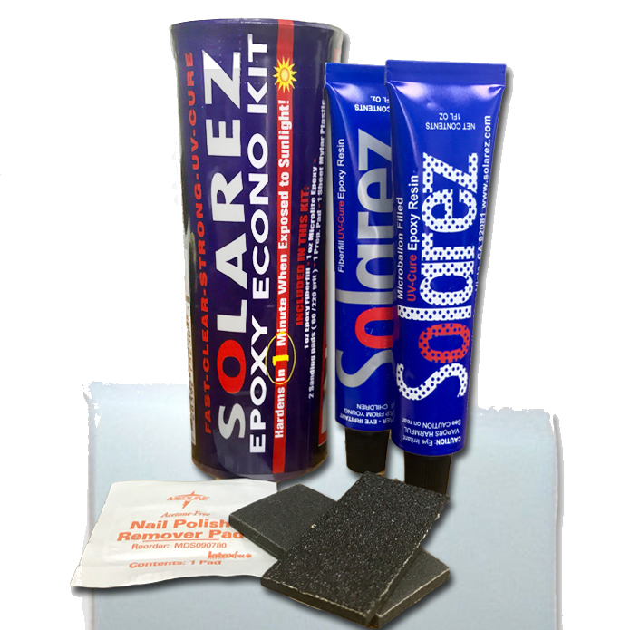 Reparador Solarez Epoxy Econo Kit