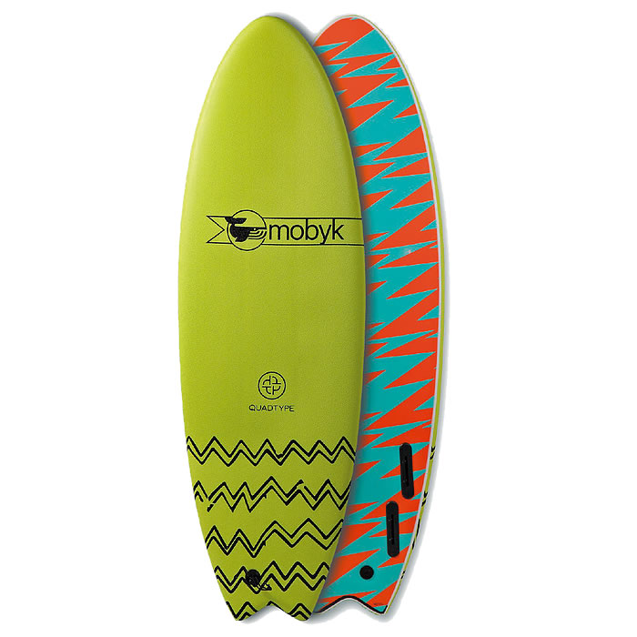 6'0''  Mobyk Fish Quad