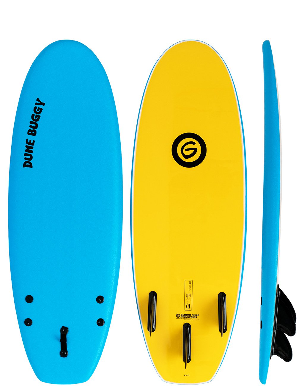 4'10''    Gnaraloo Dune Buggy Blue