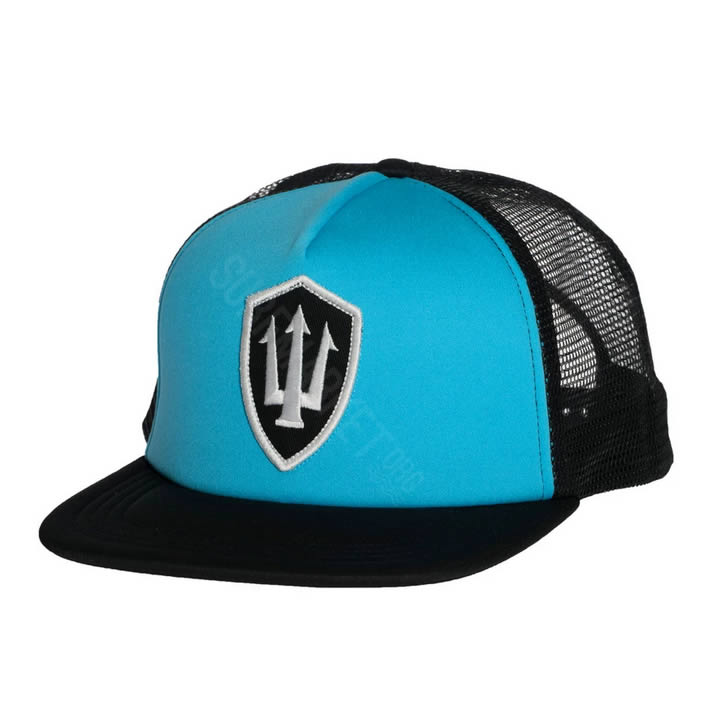 Gorra Farking Flat Blue Trucker