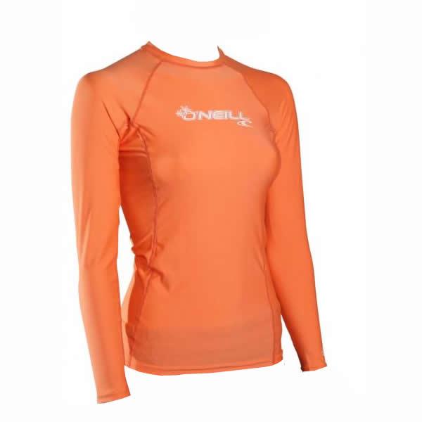 O'Neill  Basic Skins   L/S Sun Shirt Neon