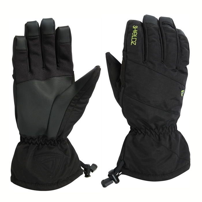 Guantes Snow Ride It Black Shieldz