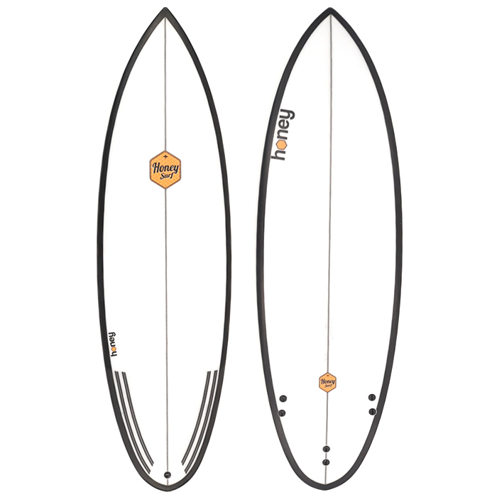 Honey Surfboards  Black Widow
