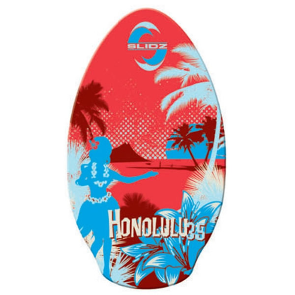 Skimboard 35''  Honolulu Slidz Red