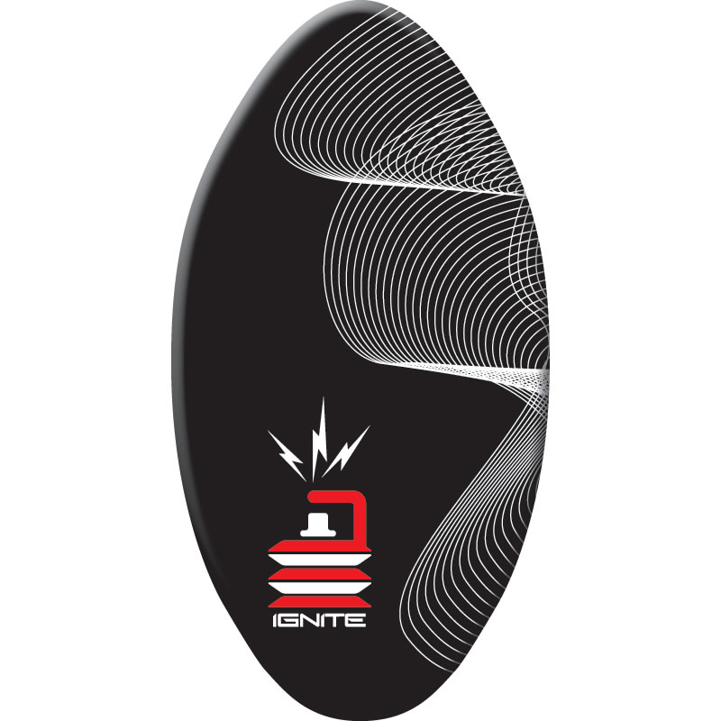 Skimboard 39'' Ignite Wood Black Alder