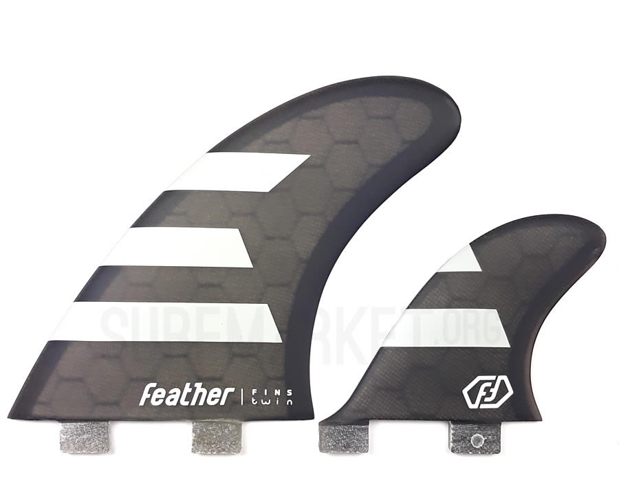 Feather Fins  Twin Fin 2+1
