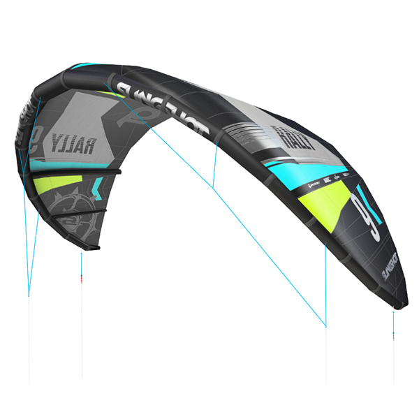 Cometa Slingshot 2017 Rally Kite