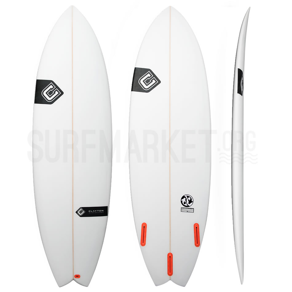 Clayton Surfboards The Makoi Fish