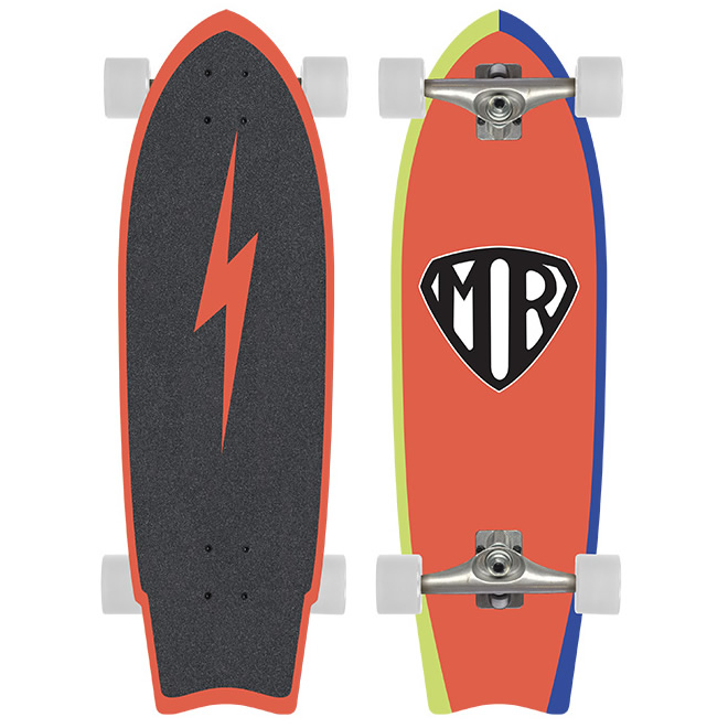 Mark Richards Super Quiksilver Red