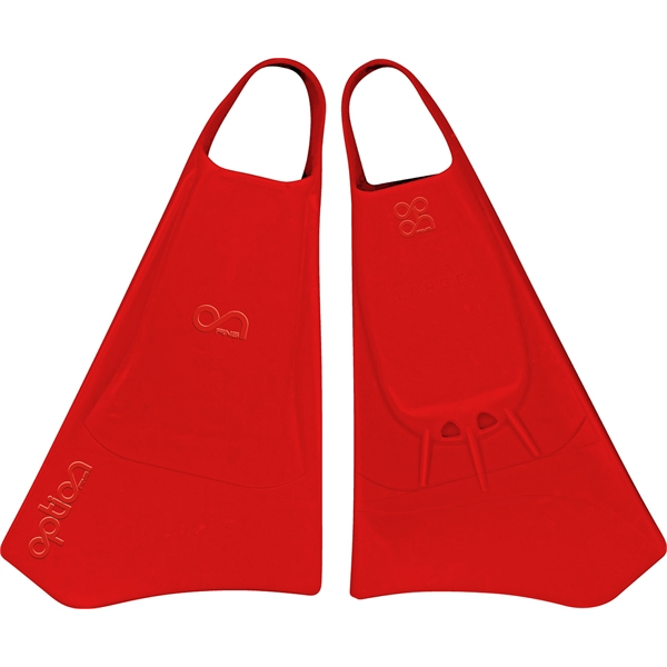 Aletas  Option Bodyboard Red
