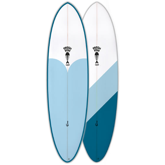 Fresh Surfboards The Orca